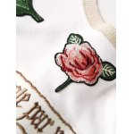 Embroidered Patched Sweatshirt deal