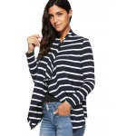 Asymmetrical Striped Cardigan deal
