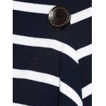 best Asymmetrical Striped Cardigan