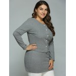 Buttoned Cardigan and Bodycon Tank Dress for sale