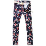 ABCD Dotted Print Casual Pants