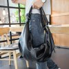 PU Leather Convertible Backpack for sale