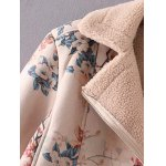 Floral Print Furred Jacket deal