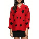 Star Pattern Knitted Cardigan