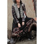 Ethnic Jacquard Shearling Jacket deal
