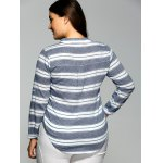Striped Pocket Casual Shirt for sale
