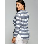 Striped Pocket Casual Shirt deal