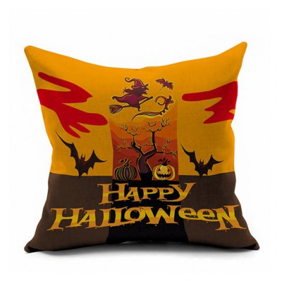 Happy Halloween Series Printed Pillow Case