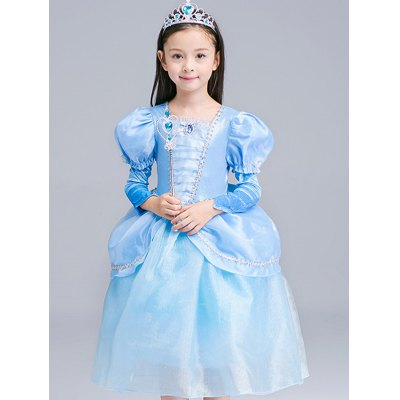 Fairy Tale Dress Kids Halloween Princess Cosplay Dress