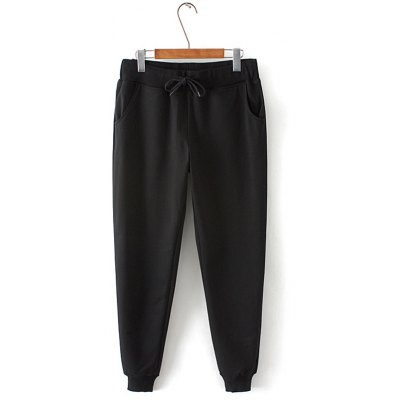 Plus Size Drawstring Pants