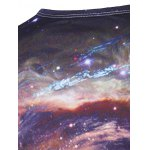 Long Sleeves Universe 3D Print T-Shirt for sale