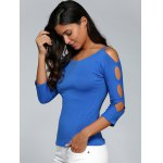 Cut Out Stretchy Slimming T-Shirt deal