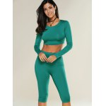 Cropped Sports Top with Shorts deal