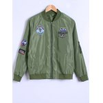 Appliques Bomber Jacket photo