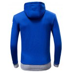 Coolster Star Stitching Print Hoodie