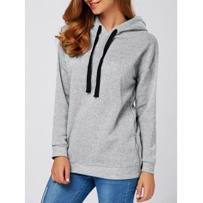 String Thickening Hoodie