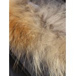 Plus Size Patchwork Furred Coat deal