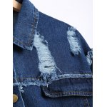 Distressed Jean Jacket for sale
