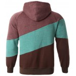 cheap Color Splicing Hoodie