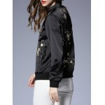 Zipped Floral Patterned Jacket deal
