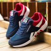 Breathable Lace-Up Color Block Athletic Shoes deal