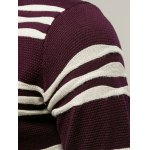 Long Sleeves Striped Pullover Knitwear for sale