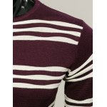 Long Sleeves Striped Pullover Knitwear deal