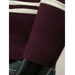 best Long Sleeves Striped Pullover Knitwear