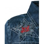 Embroidery Star Denim Jacket deal