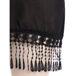 Chiffon Fringed  Cover Up for sale