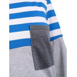 Striped Pocket Tunic T-Shirt for sale