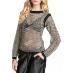 See-Through Mesh Sweater deal