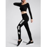 cheap Never Give Up Yoga Leggings