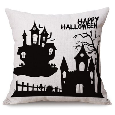 Halloween Printed Pillow CaseHand