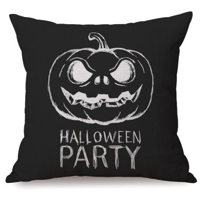 Antibacteria Sofa Cushion Halloween Party Pumpkin Printed Pillow Case