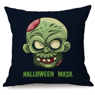 Mask Printed Pillow CaseHand