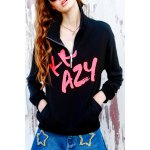 Cotton Graphic Zipper Sweatshirt deal
