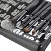 7 Pcs Pony Hair Makeup Brushes Set with Brush Bag for sale