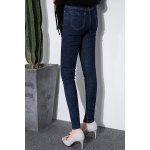 cheap Button Fly Pencil Jeans