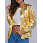 Buy Downtown Milano PU Jacket M GOLDEN