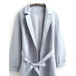 Belted Casual Trench Coat deal