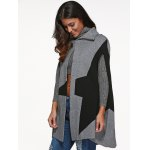 best Star Cape Coat with Button