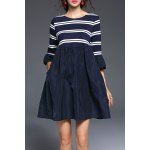 Stripe Mini Smock Dress deal