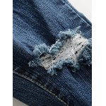 best Destroy Wash Frayed Jeans