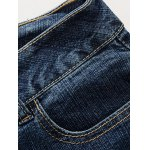 Destroy Wash Frayed Jeans for sale