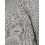 Cut Out Sleeve Knitted Sweater photo