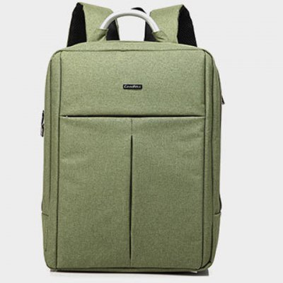 Metallic Nylon Zip BackpackMens Bags<br>Metallic Nylon Zip Backpack<br><br>Backpack Usage: Daily Backpack<br>Backpacks Type: Softback<br>Closure Type: Zipper<br>Pattern Type: Solid<br>Main Material: Nylon<br>Gender: For Men<br>Weight: 1.200kg<br>Package Contents: 1 x Backpack<br>Length: 32.5CM<br>Width: 14.5CM<br>Height: 43CM