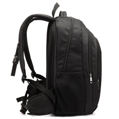 Dark Colour Metal Zippers BackpackMens Bags<br>Dark Colour Metal Zippers Backpack<br><br>Backpack Usage: Daily Backpack<br>Backpacks Type: Softback<br>Closure Type: Zipper<br>Pattern Type: Solid<br>Main Material: Nylon<br>Gender: For Men<br>Weight: 1.750kg<br>Package Contents: 1 x Backpack<br>Length: 37CM<br>Width: 23CM<br>Height: 55CM