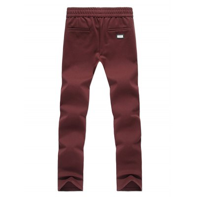 Zipper-Up Pocket Drawstring PantsMens Pants<br>Zipper-Up Pocket Drawstring Pants<br><br>Style: Casual<br>Pant Style: Pencil Pants<br>Pant Length: Long Pants<br>Material: Cotton,Polyester<br>Fit Type: Regular<br>Front Style: Flat<br>Closure Type: Drawstring<br>Waist Type: Mid<br>With Belt: No<br>Weight: 0.450kg<br>Package Contents: 1 x Pants