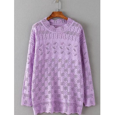 Openwork Cable Knitwear